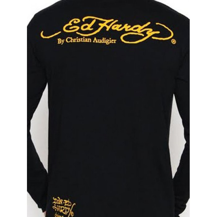 Ed Hardy SAVE OFF,Mens Long Sleeve T-shirt 002