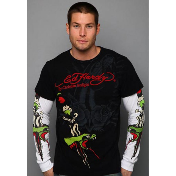 Ed Hardy store locator,Snake Dagger Specialty Double Sleeve black