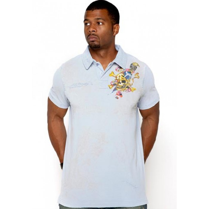 ed hardy purple for boys,Death Before Dishonor Enzyme Washed Polo