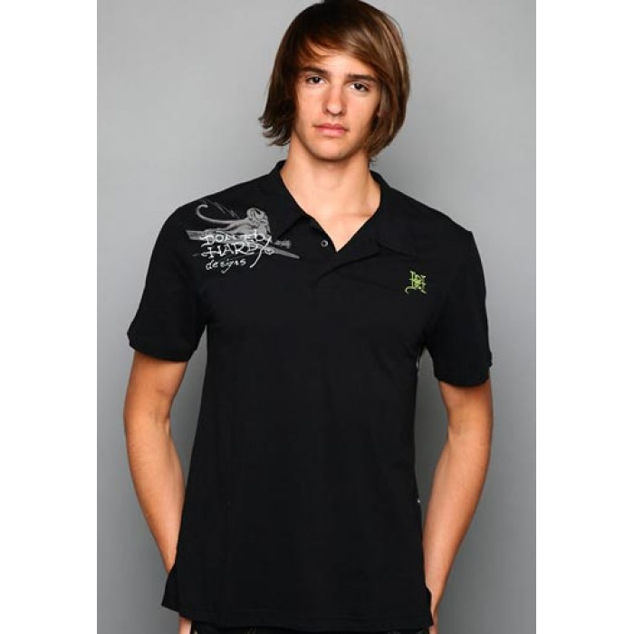ed hardy reds for men,Surf Rats Enzyme Washed Polo