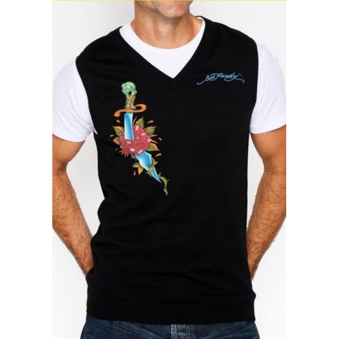 Ed Hardy Save up to,Mens Short Sleeve Sweaters style 001