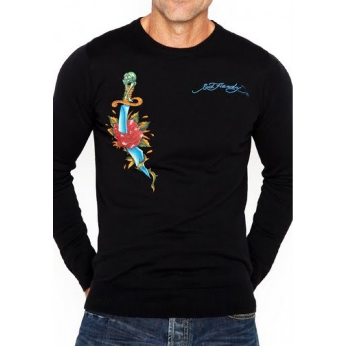 Ed Hardy factory store,Mens Long Sleeve Sweaters style 003