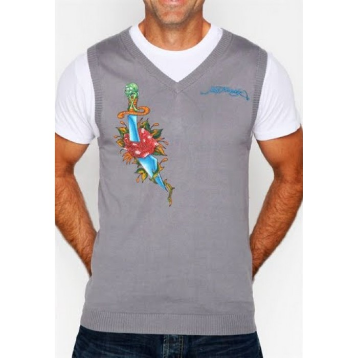 Ed Hardy cologne,Mens Short Sleeve Sweaters style 002