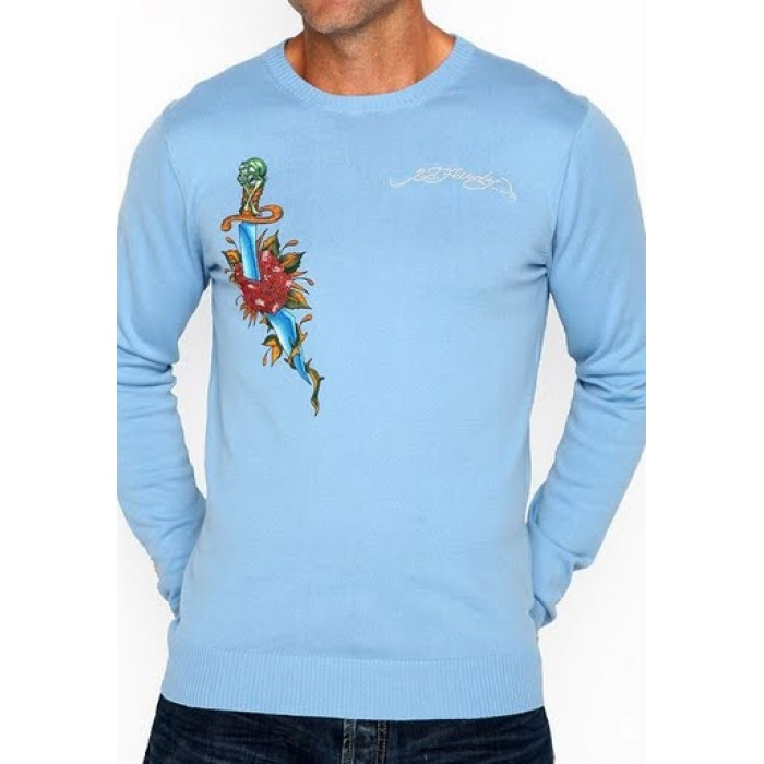 Ed Hardy cheap prices,Mens Long Sleeve Sweaters style 004
