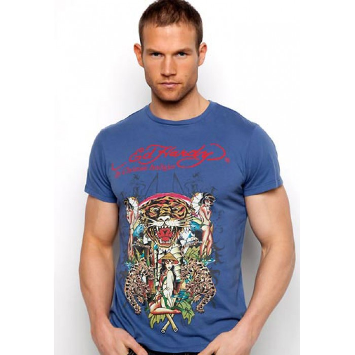 collection Ed Hardy,Asian Tigers Basic Tee