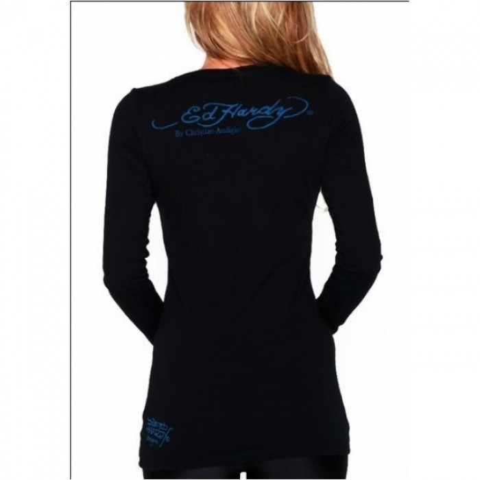 Ed Hardy Models,ED Hardy Womens Long Sleeve T Shirt