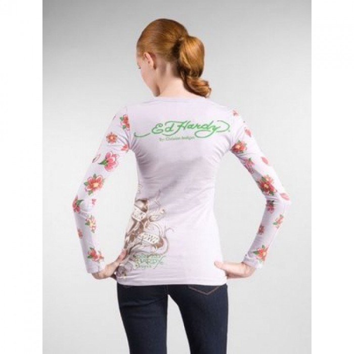 Ed Hardy new collection,ED Hardy Womens Long Sleeve T Shirt