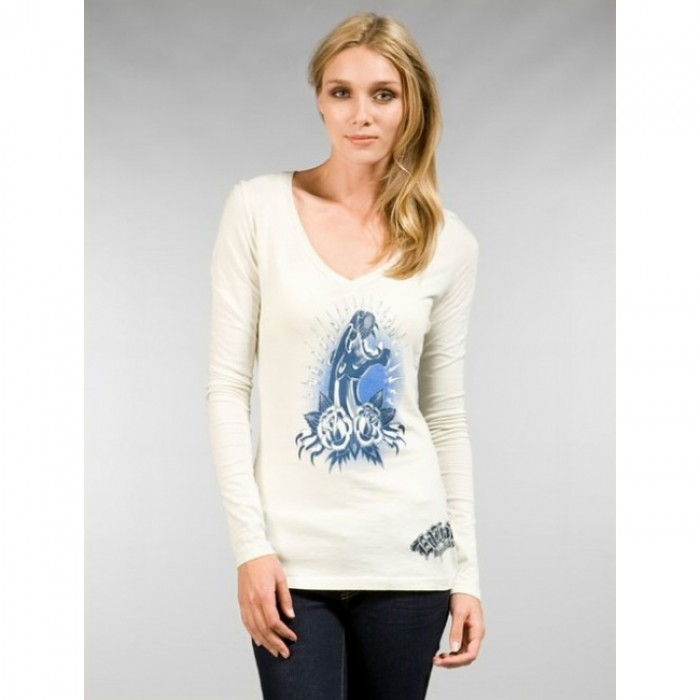 Ed Hardy Official USA Stockists,ED Hardy Womens Long Sleeve T Shirt