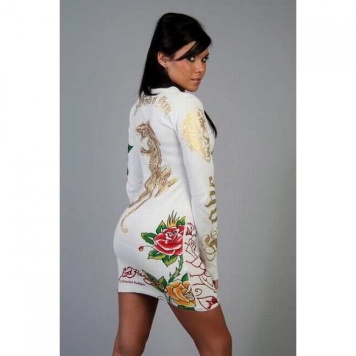 Ed Hardy official website Discount,ED Hardy Womens Long Sleeve T Shirt