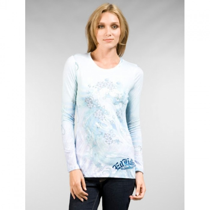 Ed Hardy Online Store,ED Hardy Womens Long Sleeve T Shirt