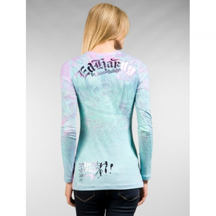 Ed Hardy outlet shop online,ED Hardy Womens Long Sleeve T Shirt