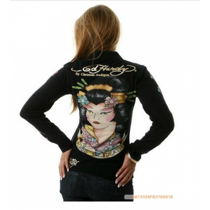 Ed Hardy Outlet Store Online,ED Hardy Womens Long Sleeve T Shirt