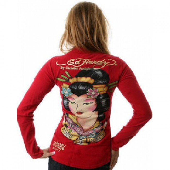 Ed Hardy outlet store sale,ED Hardy Womens Long Sleeve T Shirt