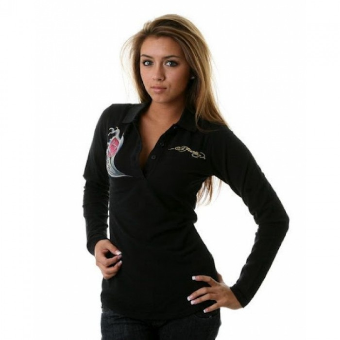 Ed Hardy outlet stores,ED Hardy Womens Long Sleeve T Shirt