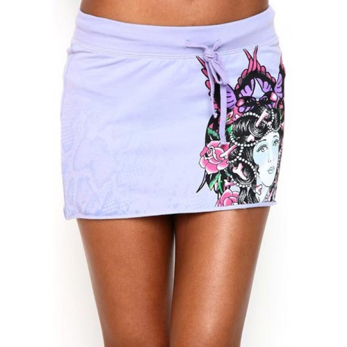 Ed Hardy Womens Beauty Specialty Skirt