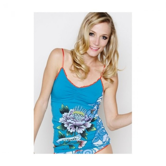 Women's Ed Hardy Suit Diamond in Flower in Blue
