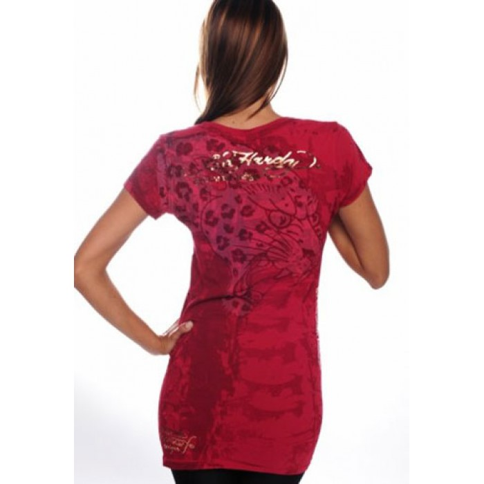us Ed Hardy cheap,Blue Dragon Shimmer Scoop Neck Tunic Tee