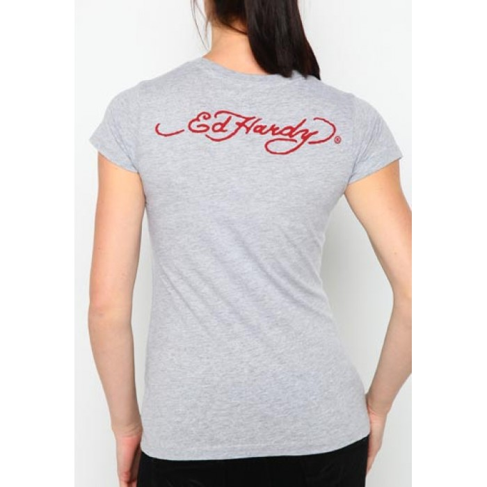 Store Ed Hardy,Dragon Core Basic Embroidered Tee