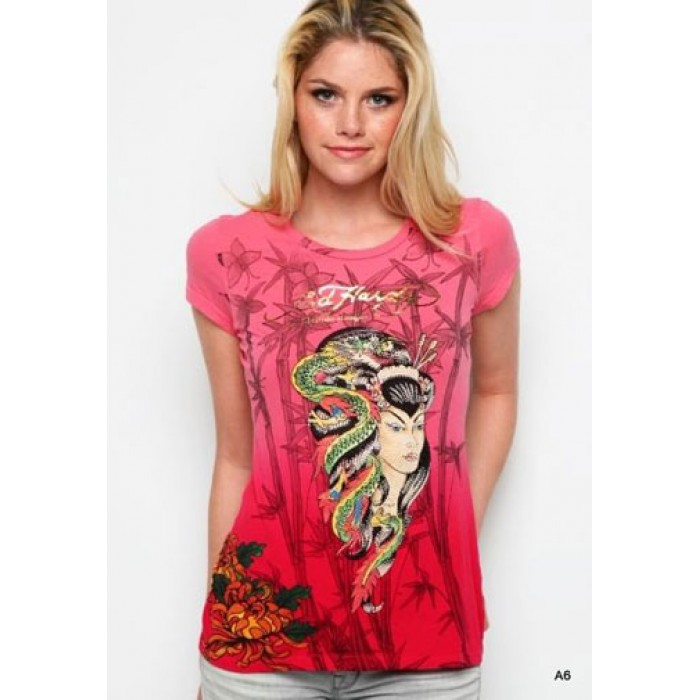 where can i buy Ed Hardy,Geisha Dragon Platinum Dip Dye Tee
