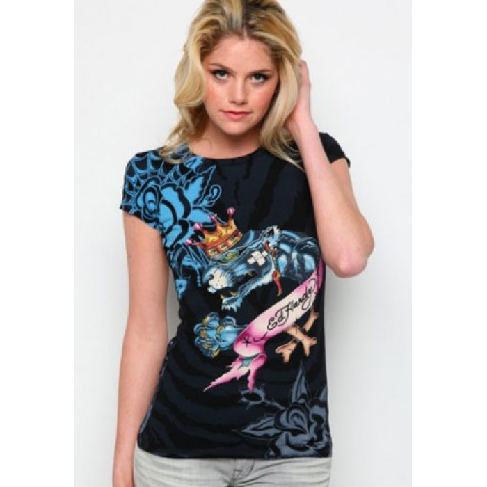 beautiful in colors Ed Hardy,King Panther Specialty Tee